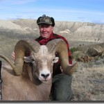 Big Horn Sheep Hunting in Montana